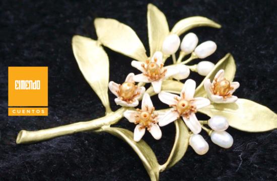Llovían flores de azahar