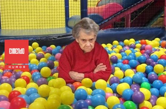 No todas las abuelitas son infumables